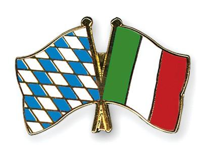 Freundschaftspins Bayern-Italien