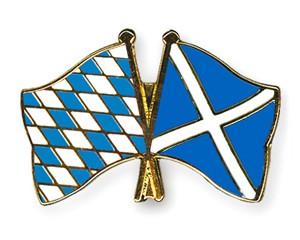 Freundschaftspins Bayern-Schottland