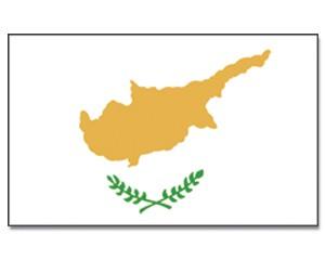 Stock-Flagge Zypern