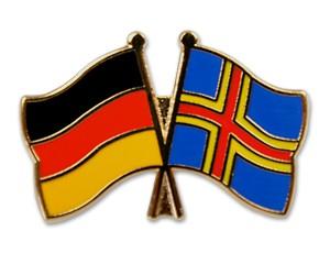 Freundschaftspins Deutschland-Åland