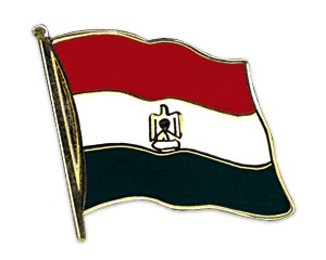 Flaggen-Pins Ägypten