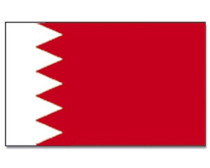 Stock-Flagge Bahrain