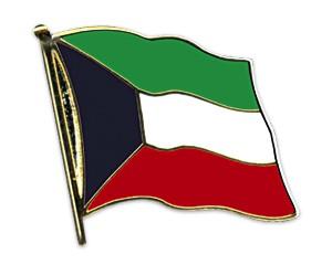 Flaggen-Pins Kuwait