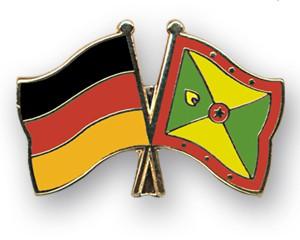 Freundschaftspins Deutschland-Grenada