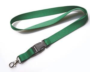 Schlüsselband 20 mm grün mit KSV