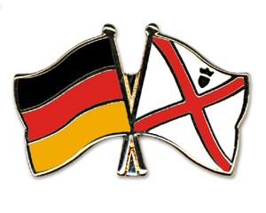 Freundschaftspins Deutschland-Jersey