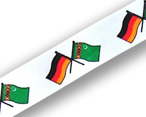 Freundschafts-Schlüsselbänder Deutschland-Turkmenistan