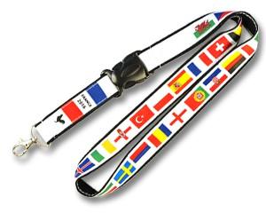 Schlüsselband 24-Teilnehmerländer EM 2016