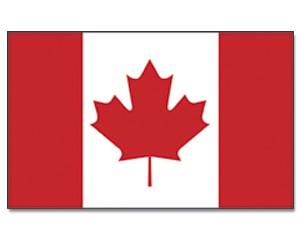 Stock-Flagge Kanada