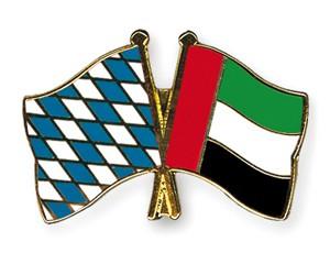 Freundschaftspins Bayern-Vereinigte Arabische Emirate