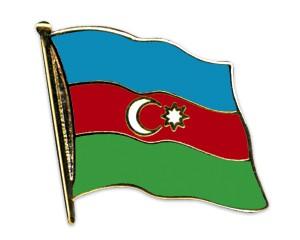 Flaggen-Pins Aserbaidschan
