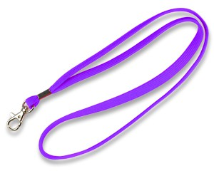 Schlüsselband 10 mm lila