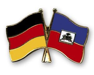 Freundschaftspins Deutschland-Haiti