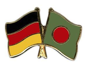 Freundschaftspins Deutschland-Bangladesch