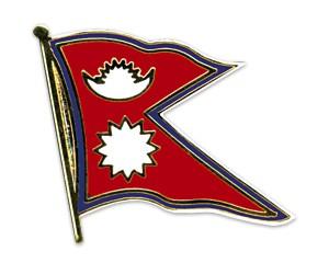 Flaggen-Pins Nepal