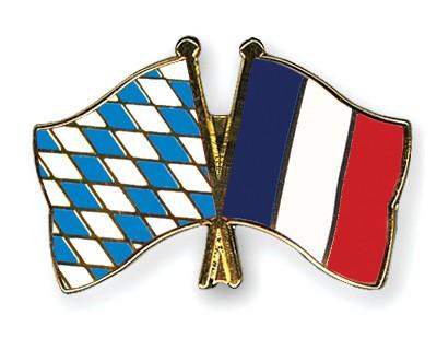 Freundschaftspins Bayern-Frankreich