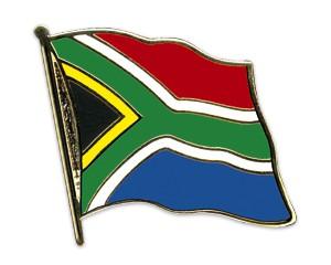 Flaggen-Pins Südafrika