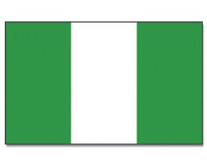 Stock-Flagge Nigeria