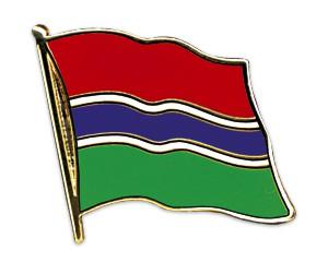 Flaggen-Pins Gambia