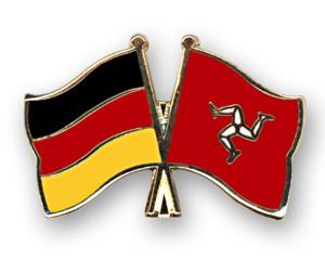 Freundschaftspins Deutschland-Isle of Man