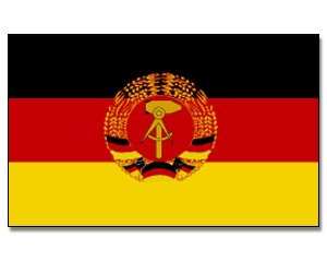 Stock-Flagge DDR