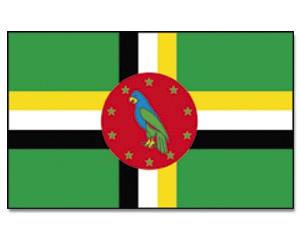 Flagge Dominica