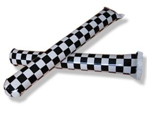 Airsticks Zielflagge
