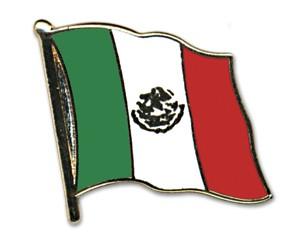 Flaggen-Pins Mexiko