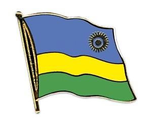 Flaggen-Pins Ruanda
