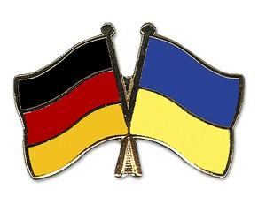 Freundschaftspins Deutschland-Ukraine