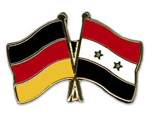Freundschaftspins Deutschland-Syrien