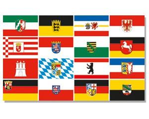 Flagge Deutschland 16 Bundesländer Sonderposten