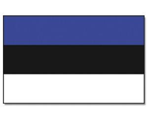 Stock-Flagge Estland