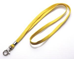 Schlüsselband 10 mm gelb