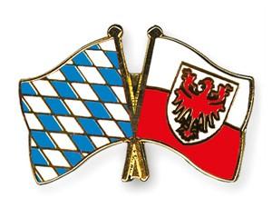 Freundschaftspins Bayern-Südtirol