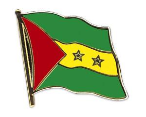 Flaggen-Pins Sao Tome und Principe