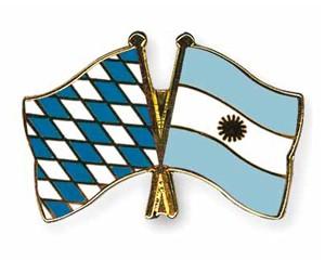 Freundschaftspins Bayern-Argentinien