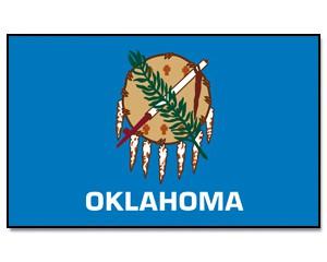 Flagge Oklahoma