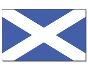 Stock-Flagge Schottland