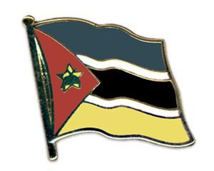 Flaggen-Pins Mosambik