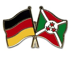 Freundschaftspins Deutschland-Burundi
