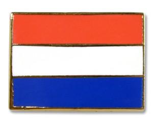 Flaggen-Pins Niederlande (rechteckig)