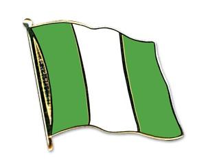 Flaggen-Pins Nigeria