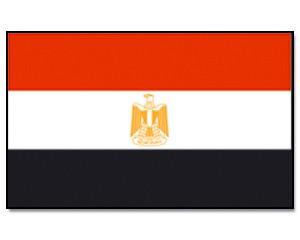 Flagge-Ägypten
