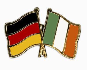 Freundschaftspins Deutschland-Irland
