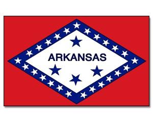 Flagge Arkansas