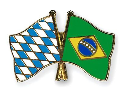 Freundschaftspins Bayern-Brasilien