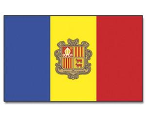 Flagge Andorra