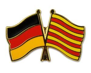 Freundschaftspins Deutschland-Katalonien