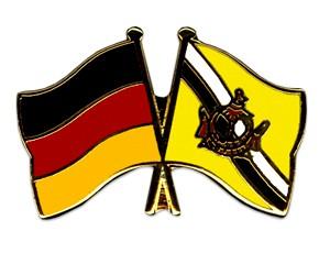 Freundschaftspins Deutschland-Brunei Darussalam